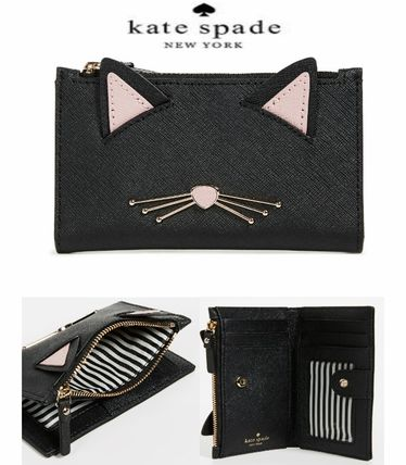 【Kate Spade】Cat's Meow Mikey  キャット・ウォレット