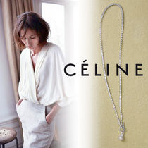 【CELINE】18AW新作★バロックパール ロングネックレス / Silver