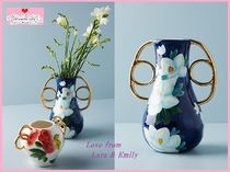 19AW☆最安値保証*関税送料込【Anthro】Watercolor Garden Vase
