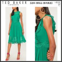 【関税込】TED BAKER ドレス☆Porrla frilled woven midi dress