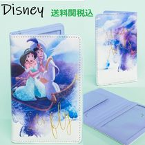 送関込☆Disney☆Jasmine & Aladdin Passport Holder