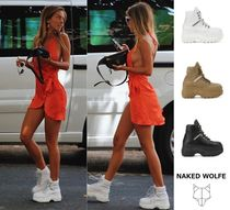 Naked Wolfe(ネイキッドウルフ) スニーカー 【Naked Wolfe】WICKED LEATHER 厚底スニーカー ハイカット