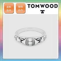 大人気!TOM WOOD Link Band Ring