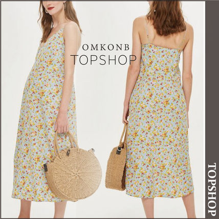 TOPSHOP マタニティワンピース 【国内発送・関税込】TOPSHOP★MATERNITY DitsyPrint Slip Dress