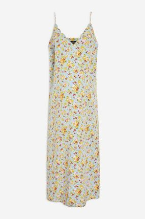 TOPSHOP マタニティワンピース 【国内発送・関税込】TOPSHOP★MATERNITY DitsyPrint Slip Dress(2)