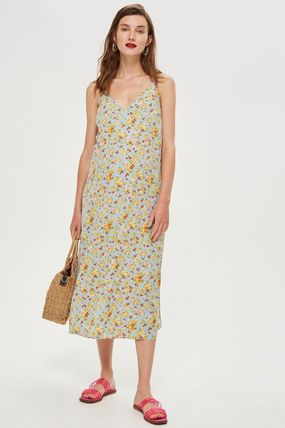 TOPSHOP マタニティワンピース 【国内発送・関税込】TOPSHOP★MATERNITY DitsyPrint Slip Dress(3)