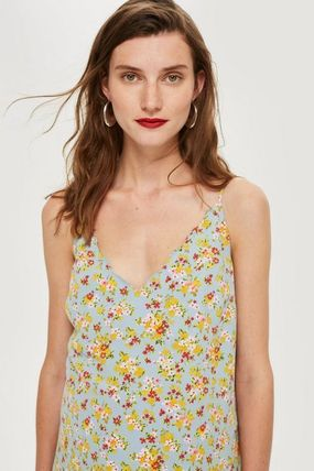 TOPSHOP マタニティワンピース 【国内発送・関税込】TOPSHOP★MATERNITY DitsyPrint Slip Dress(4)