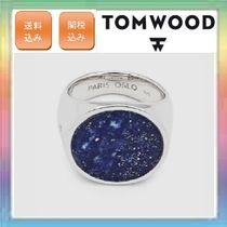 大人気!希少カラー!TOM WOOD ・Flush Blue Lapis Circle