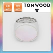 大人気!希少カラー!TOM WOOD ・Flush Mother of Pearl Circle