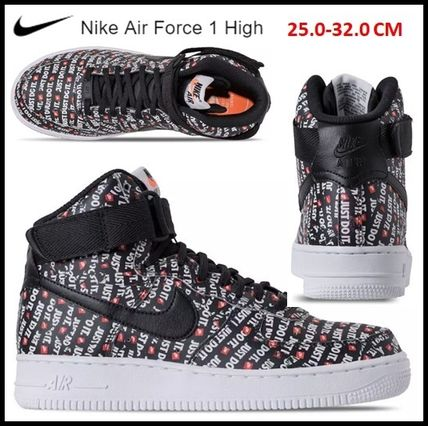 Nike スニーカー 【NIKE】JUST DO IT★Air Force 1 High '07 LV8  Men's