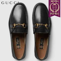 【正規品保証】GUCCI★18秋冬★1953 HORSEBIT LEATHER LOAFER