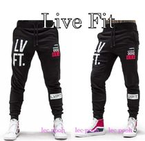 ◆LiveFit ◆Stacked Joggers ロゴ入り ジョガーパンツ