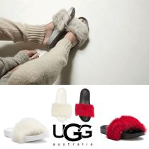 【大人気】UGG Royale Genuine Lamb Fur Slide