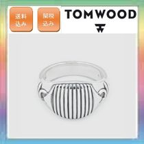 大人気!TOM WOOD Link Signet Ring