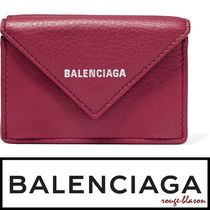 【国内発送】Balenciaga 財布 Textured-leather wallet