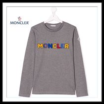 ★★MONCLER《 TEEN LOGO EMBROIDERED T-SHIRT 》送料込み★★