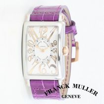 Croco Leather☆Franck Muller☆Long Island Reliefウォッチ♪