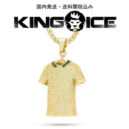 King Ice ネックレス・チョーカー 日本未入荷☆KING ICE☆The Brazil World Cup Jersey Necklace
