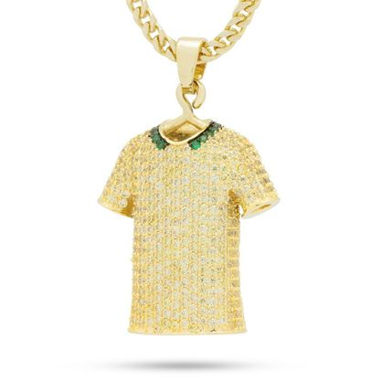 King Ice ネックレス・チョーカー 日本未入荷☆KING ICE☆The Brazil World Cup Jersey Necklace(2)