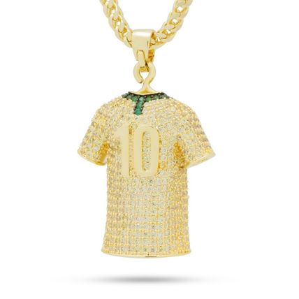 King Ice ネックレス・チョーカー 日本未入荷☆KING ICE☆The Brazil World Cup Jersey Necklace(3)