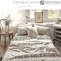 DECO VIEW(デコヴュー) ★Natural Flower Linen Summer Bedding