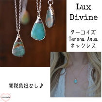 Lux Divine★LA発!TERENA AQUAターコイズネックレス