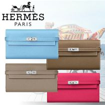 HERMES 2018-19AW Portefeuille Kelly classique 長財布 4色