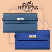 HERMES 2018-19AW Portefeuille Kelly classique 長財布 2色