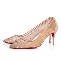 安心送料関税込! Christian Louboutin  Follies Strass Rete 70