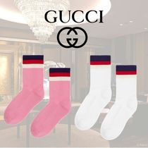 VIP価格【Gucci】COTTON SOCKS WITH GUCCI GAME PATCH 関税込