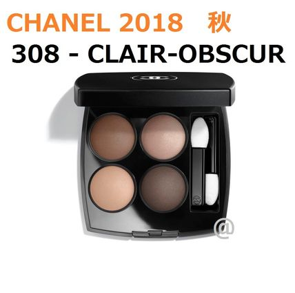 CHANEL アイメイク 2018秋 #308 - CLAIR-OBSCUR  LES 4 OMBRES★パリ先行発売