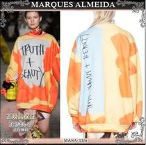 19AW☆送料込【MARQUES ALMEIDA】 TRUTH + BEAUTY トレーナー