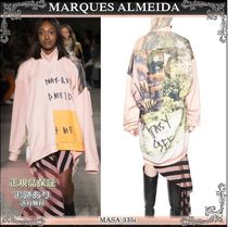 19AW☆送料込【MARQUES ALMEIDA】 POWER WOMAN トレーナー