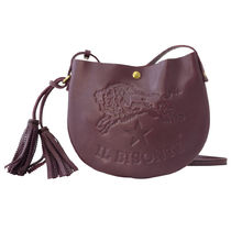 IL BISONTE ショルダーバッグ ポシェット A2665 885 PLUM