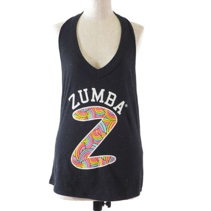 ZUMBA フィットネストップス Zumba::Sparkle On Halter Top:XS [RESALE]
