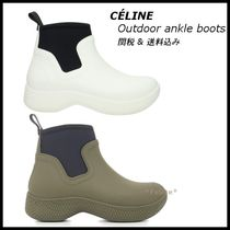 *CELINE*Outdoor Ankle Boot Rubber & Neoprene 関税/送料込