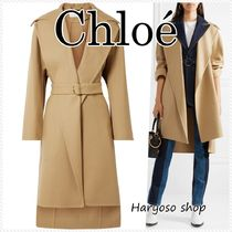 VIP価格★Chloe★wool dressing ガウン
