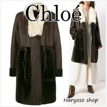 VIP価格★Chloe★reversible shearing コート