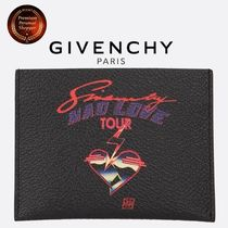 ∮GIVENCHY∮mad love tourプリントレザーカードケース 関税送込