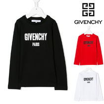 GIVENCHY(ジバンシィ) Tシャツ・カットソー 【GIVENCHY】大人もOK!ロゴプリントロングTシャツ(ロゴ大)