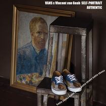 VANS x Vincent van Gogh AUTHENTIC★SELF-PORTRAIT