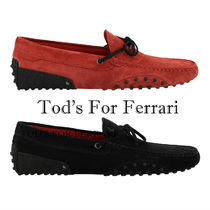 TOD'S FOR FERRARI ★New Gommino Driving Shoes 2色 関税/送込