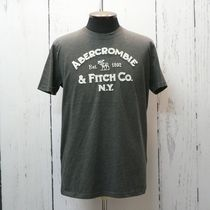 Abercrombie&Fitch アバクロ アップリケ 半袖 Tシャツ  (8896)