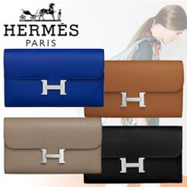 HERMES 2018-19AW Portefeuille Constance long 長財布 カーフ