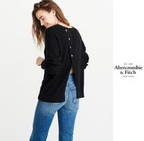 Abercrombie(アバクロ)★BUTTON-BACK PULLOVER