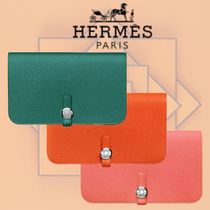 HERMES 2018-19AW Dogon Duo combined wallet 長財布 3色