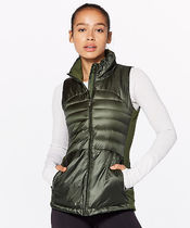 SALE*Down For A Run Vest II*軽量グースダウン*Gator Green