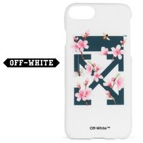 ◆OFF-WHITE◆ Cover Cherry Flowers  iPhone 7 ケース