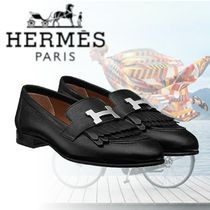 HERMES 2018-19AW Mocassins Royal モカシン ブラック