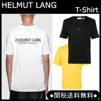 【18-19AW新作】HELMUT LANG NewYork Taxi ロゴ Tシャツ